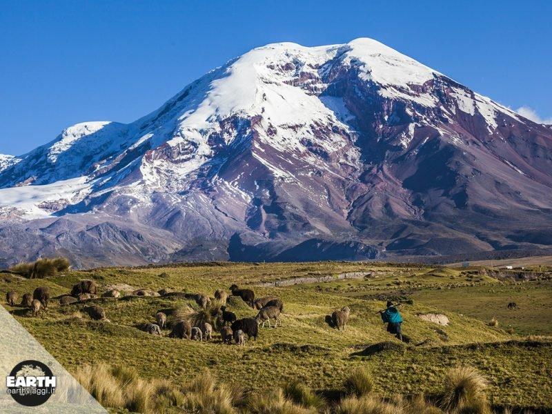 I vulcani dell'Ecuador