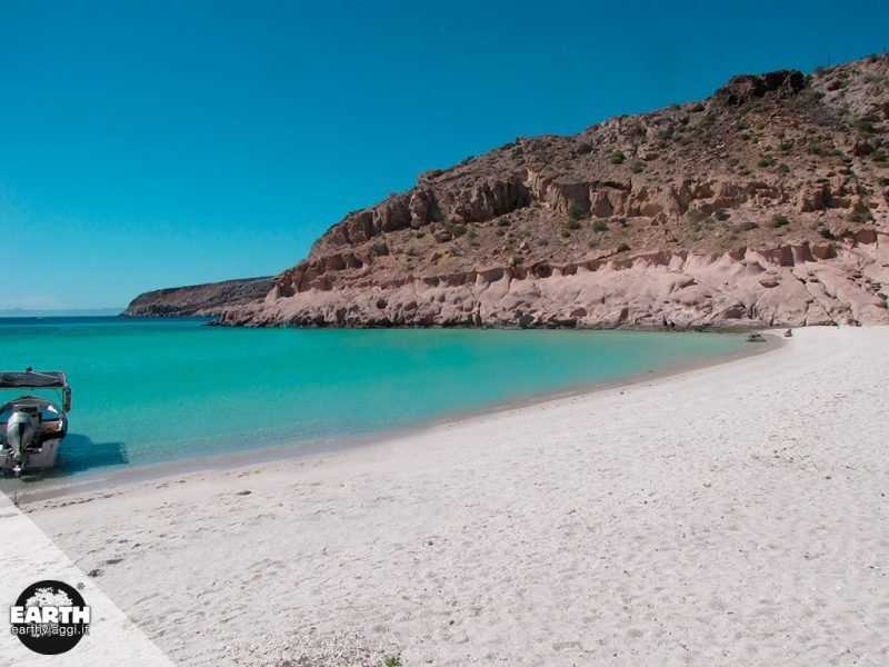 In viaggio verso la Isla Espiritu Santo in Baja California