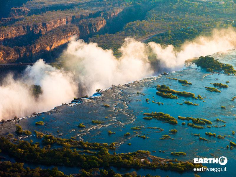Le cascate Vittoria, natura allo stato puro
