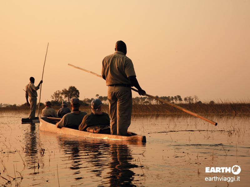 Il delta dell'Okavango, il fiume che muore nel deserto