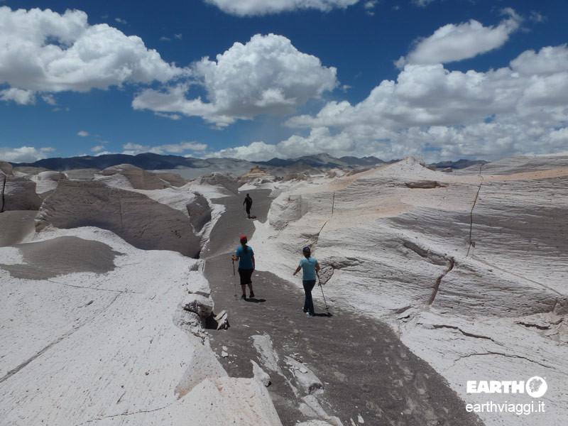 Campo Piedra Pomez, paesaggi lunari in Argentina