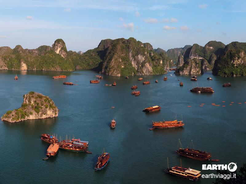 La baia di Halong: il Vietnam straordinario