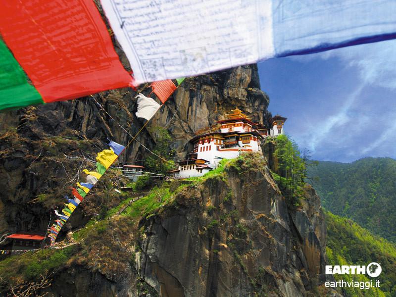 Raggiungere il Bhutan