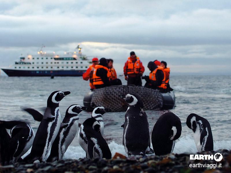Navigare in Patagonia verso la fine del mondo