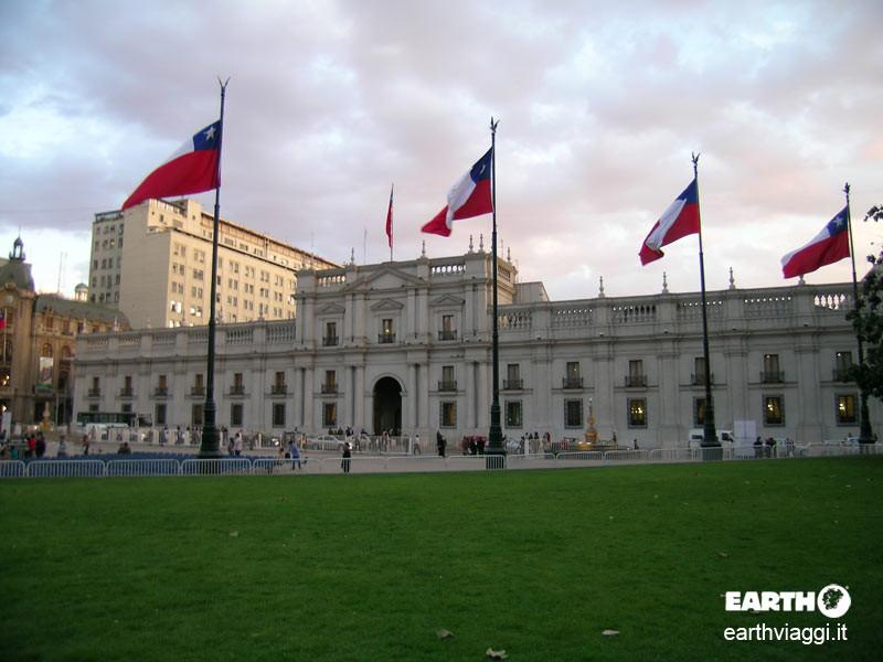 A Santiago, la porta d'ingresso del Cile