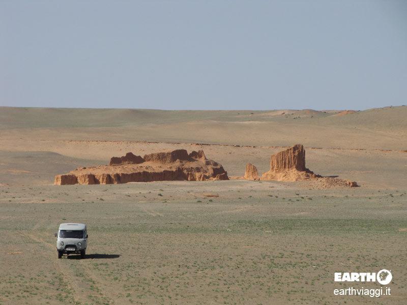 Bagazriin Chuluu, natura made in Mongolia