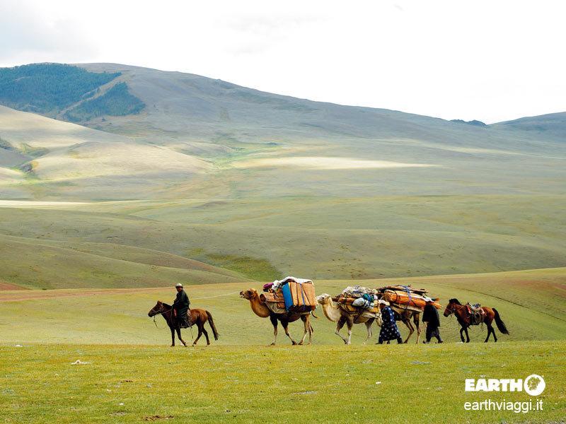 Il deserto del Gobi, pura Mongolia