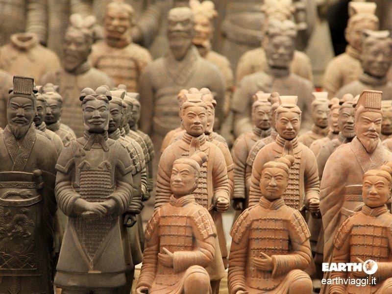 L'Esercito di Terracotta di Xi'an, la meraviglia della Cina