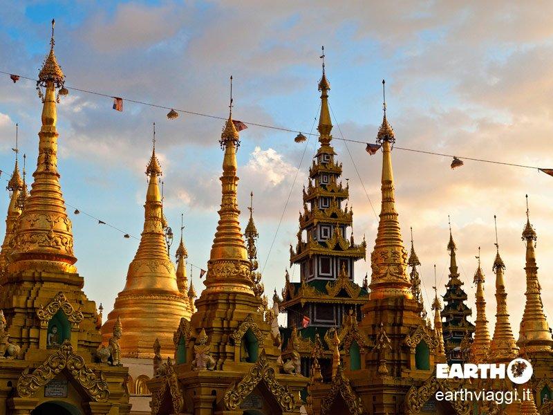 Racconto per immagini del Myanmar