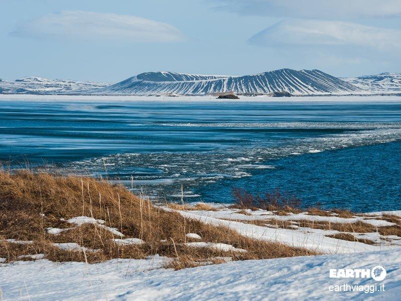 lago Myvatn, Islanda