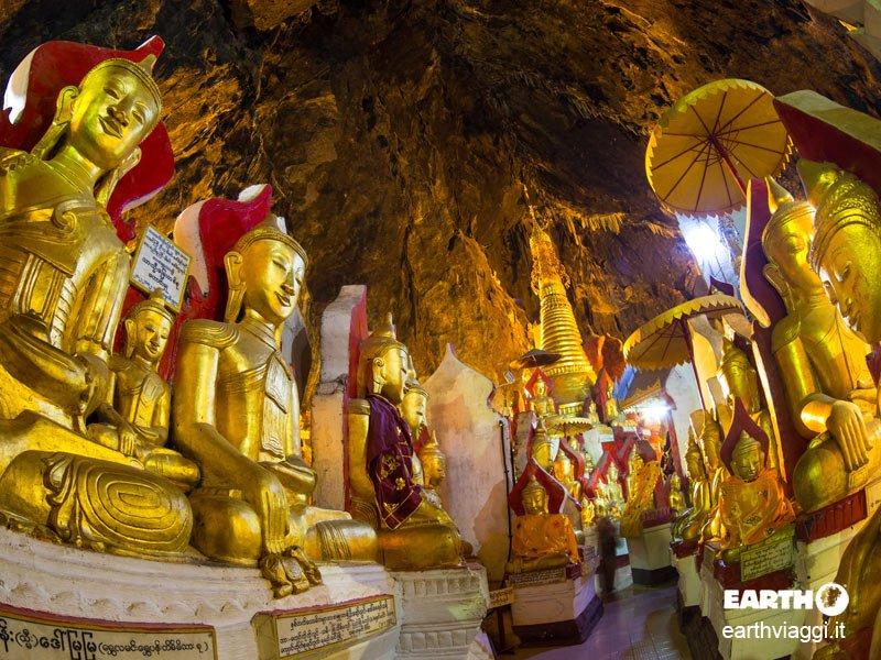 Grotte di Pindaya, nelle profondità del Myanmar