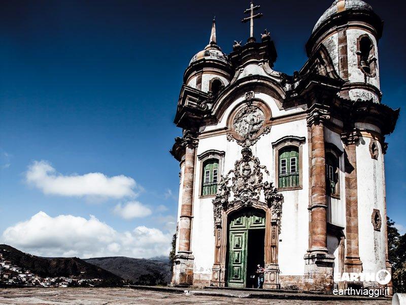 Ouro Preto, il Brasile coloniale