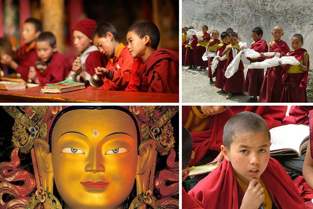 India - Ladakh: monasteri buddhisti a un passo dal cielo