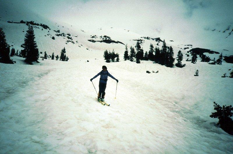 Sci alpinismo tra i vulcani degli states