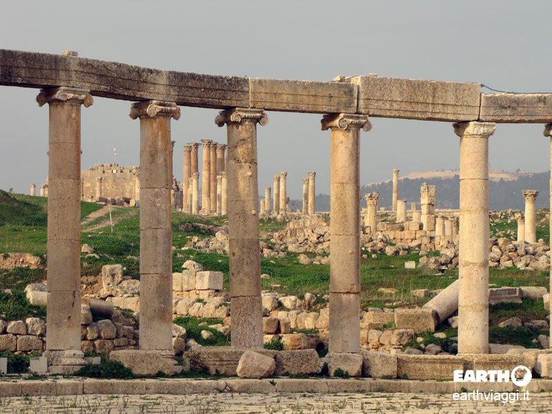 Jerash, la Giordania millenaria