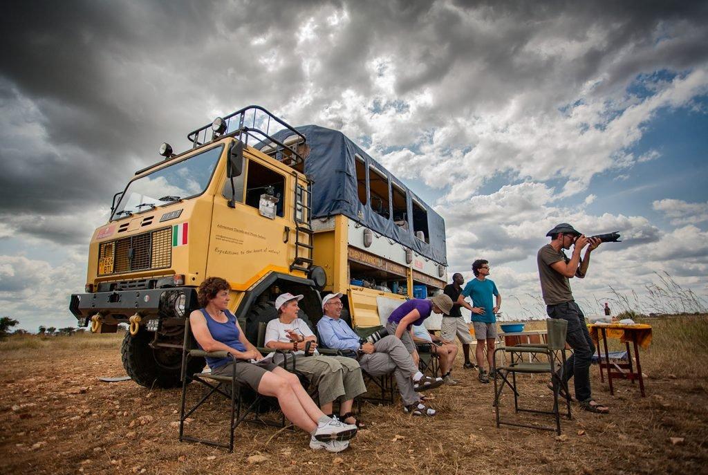 Un safari fotografico in Africa significa...