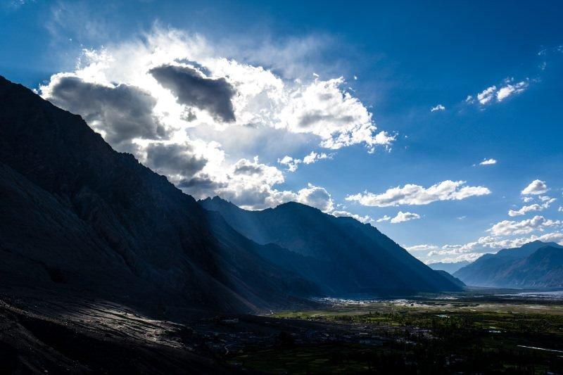 Un paesaggio in Nubra Valley