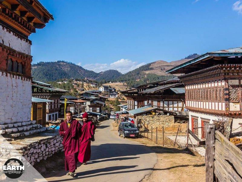 Bhutan, in viaggio verso Gangtey