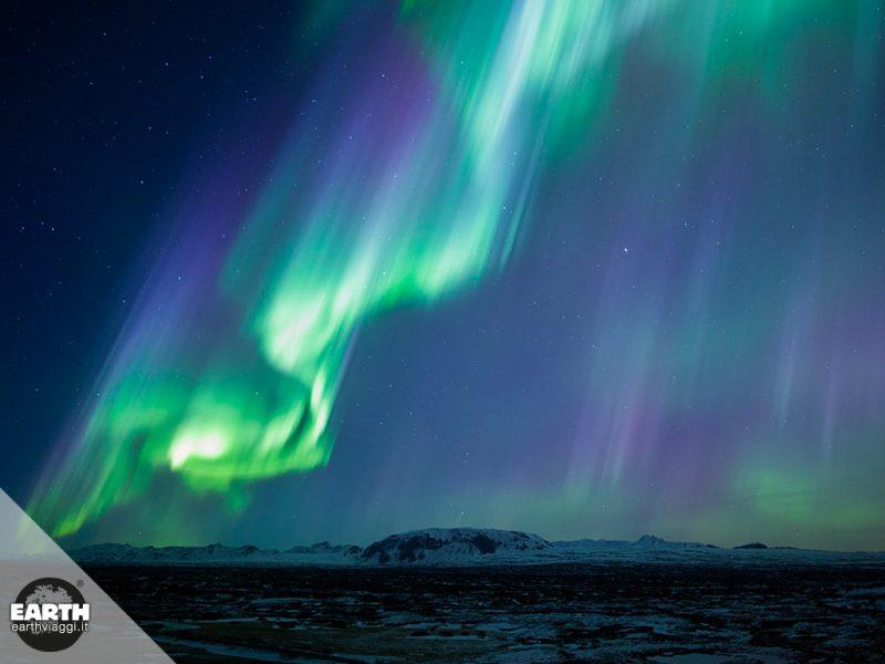 Alla scoperta dell'aurora australe