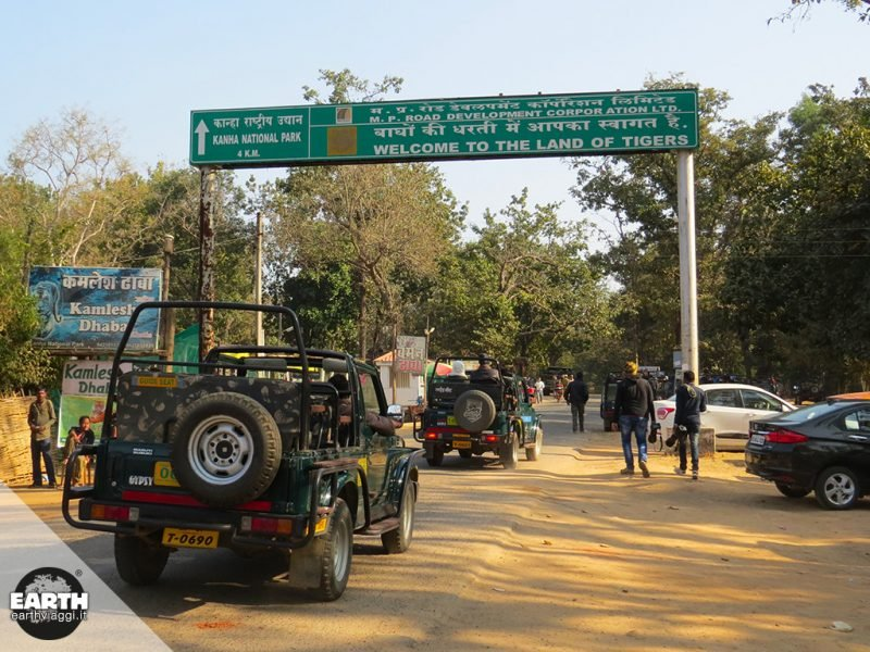 Il Kanha National Park e la Pench Tiger Reserve