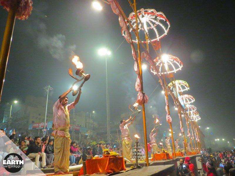 Varanasi (Benares) e il fiume Gange