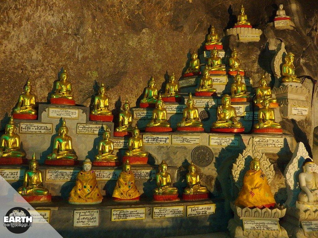 Pindaya, i mille occhi di Buddha