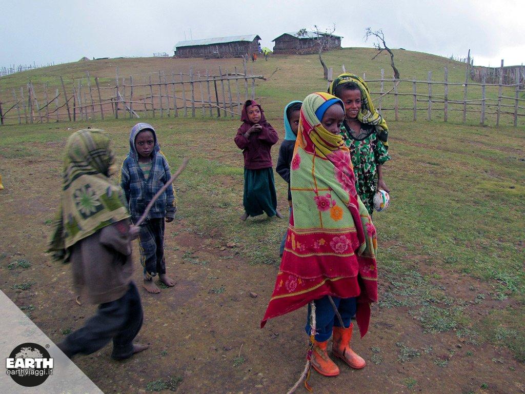 Etiopia, trekking sui Monti Simien