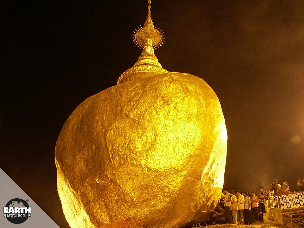 Grandi attrazioni del Myanmar: alla scoperta della pagoda Kyaikhtiyo
