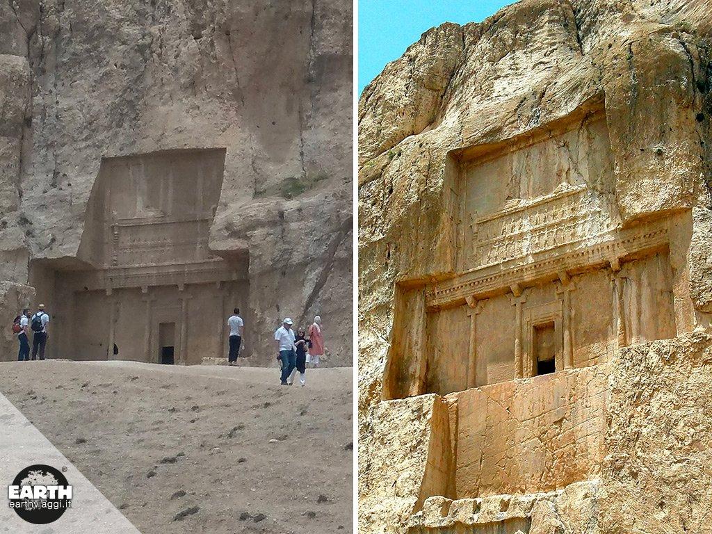 Naqsh-e Rostam, la tomba dei giganti