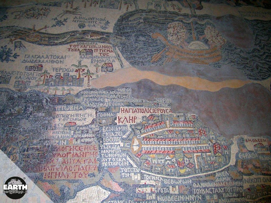 Viaggio a Madaba, la città dei mosaici