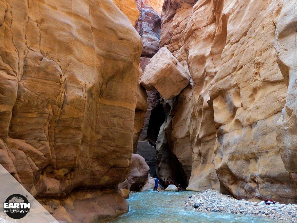 Wadi Mujib, il Grand Canyon della Giordania