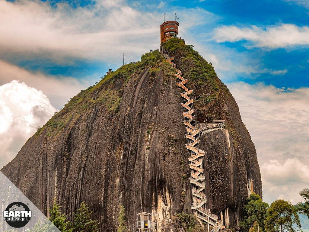 Piedra del Peñol e Guatapè, tesori della Colombia
