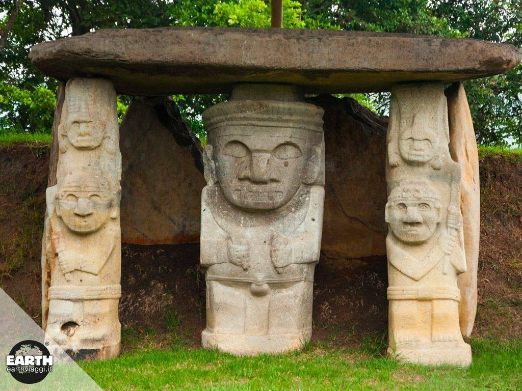 Colombia: San Agustín e il mistero dei dolmen