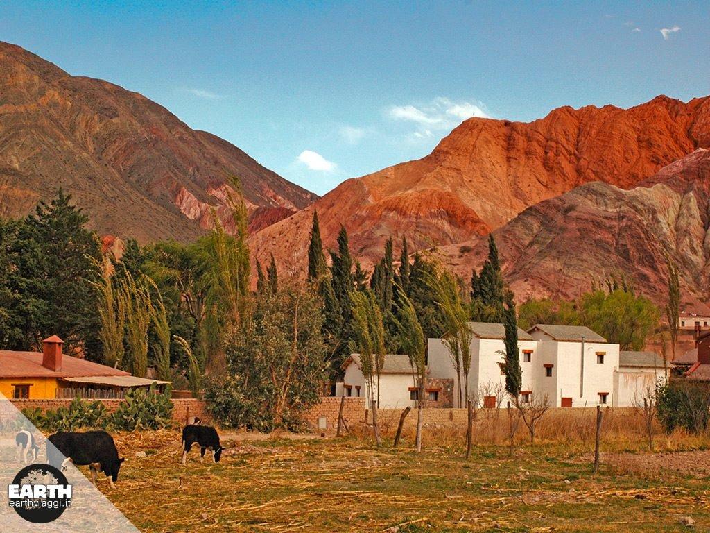 Argentina: Purmamarca, tra polvere e colori