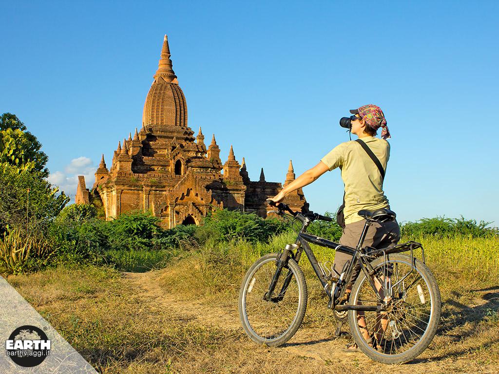 Bagan in bicicletta, un'avventura bellissima