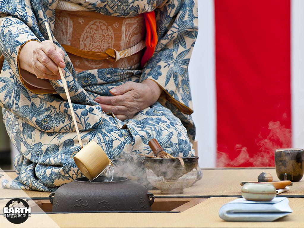 La cerimonia del tè, l'essenza del Giappone