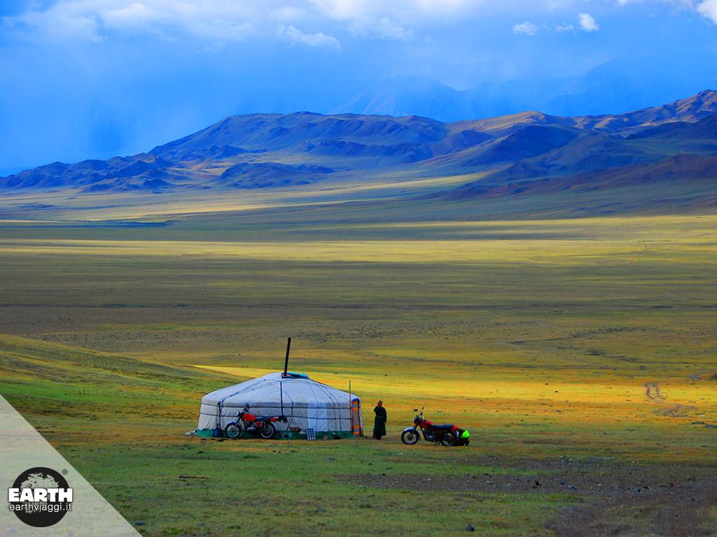 Case dal mondo: le gher della Mongolia