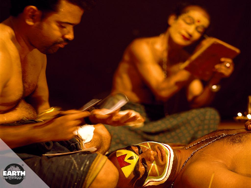 Kathakali, la danza-teatro dell'India