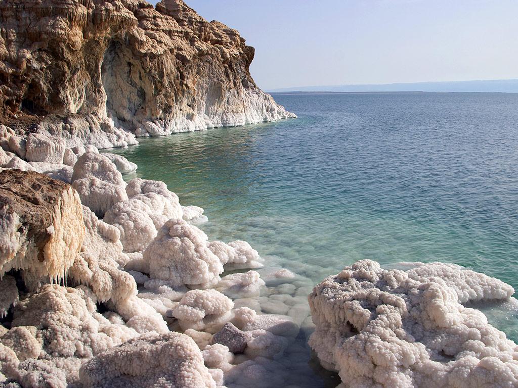 Le meraviglie naturali del Mar Morto