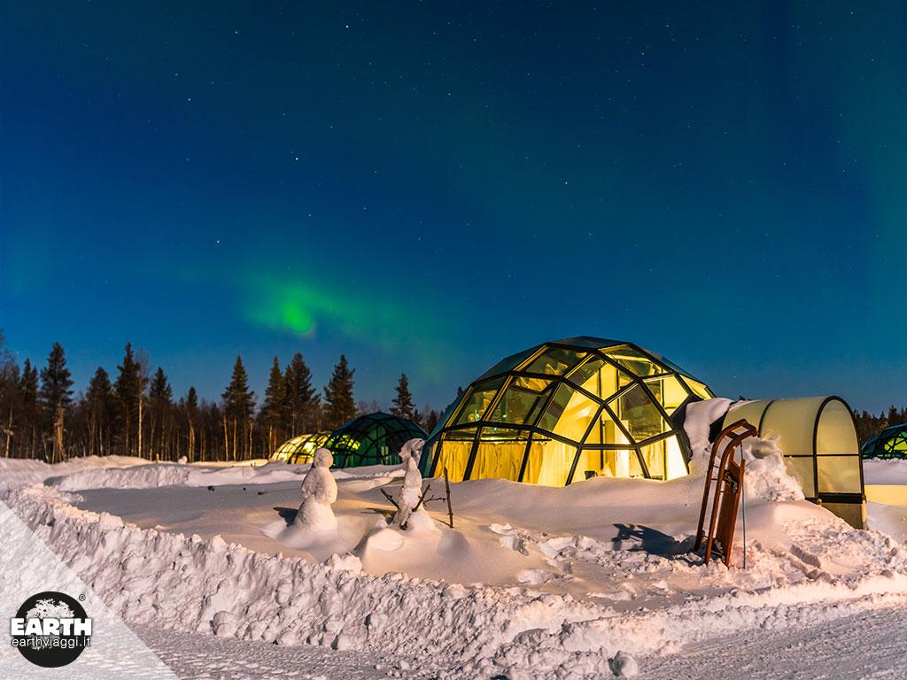 Dormire in igloo: un'esperienza unica