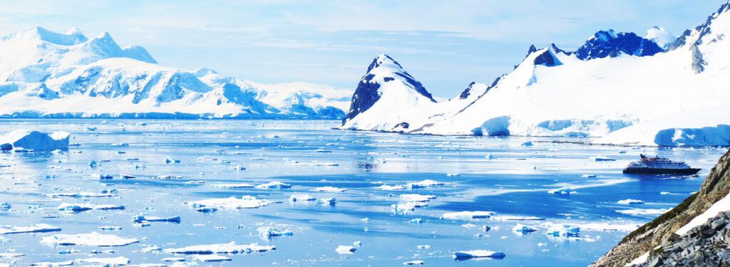 Raggiungere il Circolo Polare Antartico